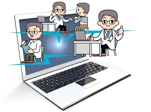 Most patient care happens within the doctor's office or emergency room. However, telemedicine offers a new method for physicians to examine patients without having them in the room.